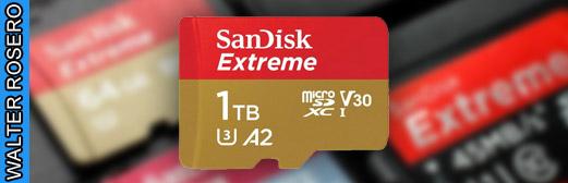 Disponible a la venta la primera Tarjeta microSD de 1TB de SanDisk